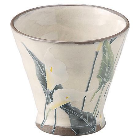 BUSHOAN SETO WARE TEA CUP - LILY