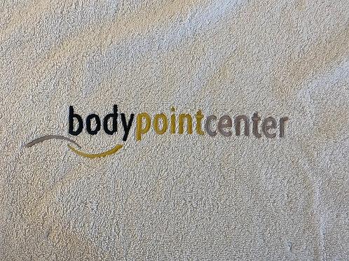 Badetuch mit Logo