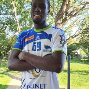 Oumar Diallo s'engage avec les Griffons