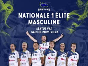 Nationale 1 élite masculine