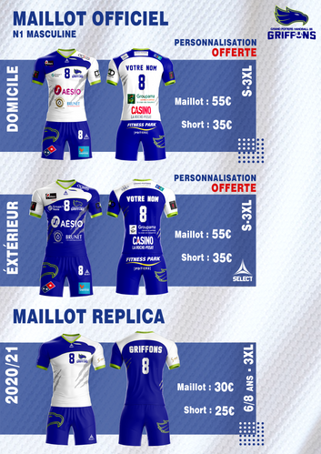 Maillots N1M