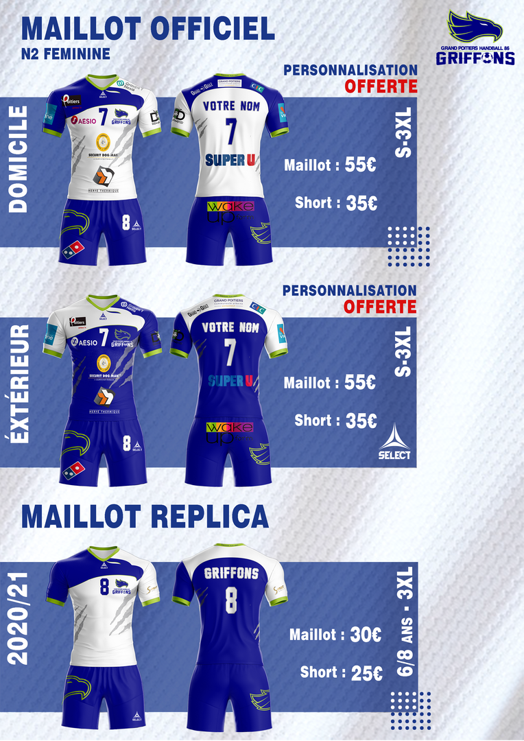 Maillots N2F