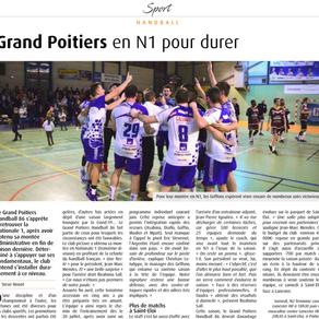 Grand Poitiers en N1 pour durer