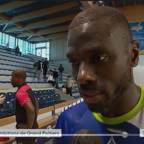 Hier soir le Grand Poitiers Handball 86 était dans l'actu du 19/20 de France 3 Nouvelle-Aquitaine