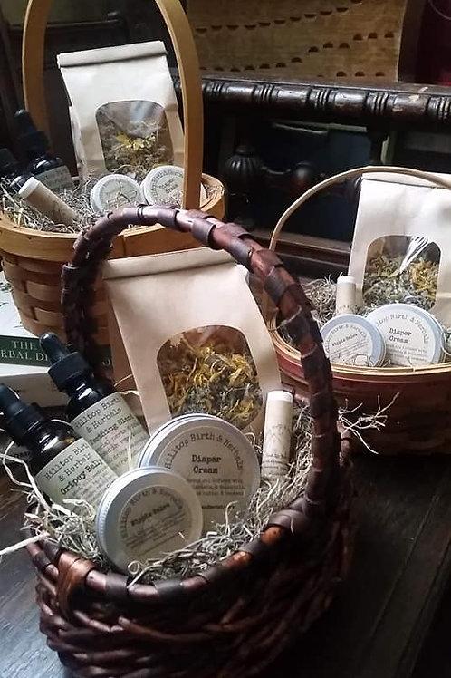 Mommy Baby Gift Basket
