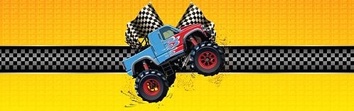 """Skirt - Monster truck 29""""x96"""""""