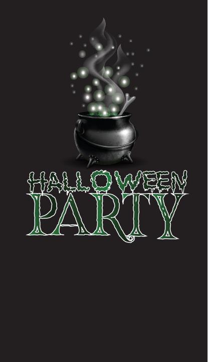 "Halloween Background 3 48""x84"""
