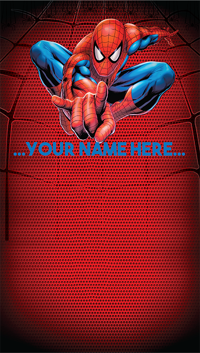 """Background and table topper - Spiderman 48""""x84"""""""