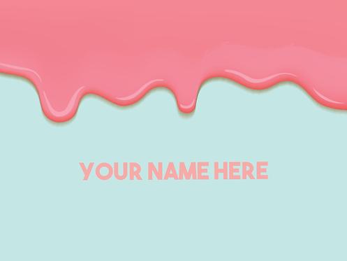 """Floor Graphic - Ice Cream 48""""x36"""""""