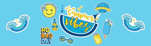 """Skirt - Summer Vibes 29""""x96"""""""