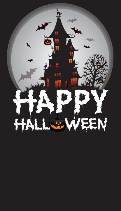 "Halloween Background 1 48""x84"""