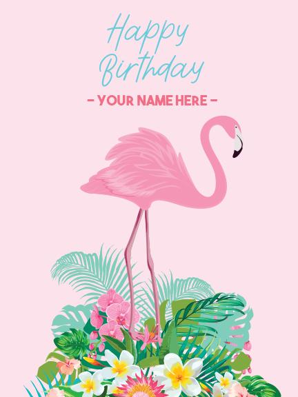 "Sign - Flamingo 18""x24"""