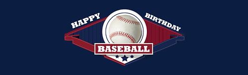 """Skirt - Baseball NY 29""""x96"""""""