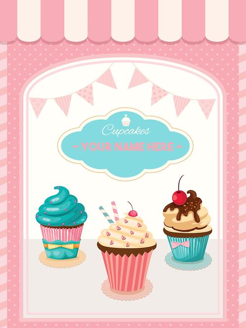 """Sign - Cupcakes 18""""x24"""""""