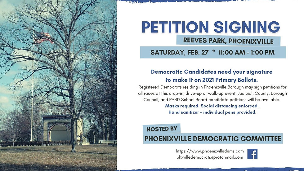 Phoenixville Petition Signing FB Cover 2