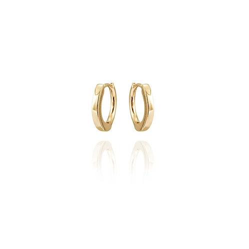 Boucles d'oreilles MINI-CREOLE diamètre 0,7mm / paire