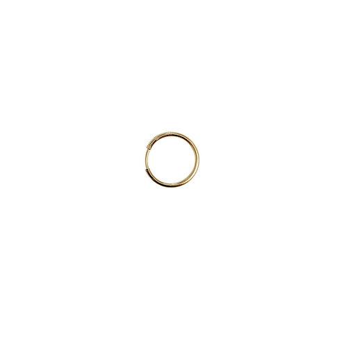 Boucle d'oreille PETITE CREOLE or 18ct diamètre 1,5cm/ unité