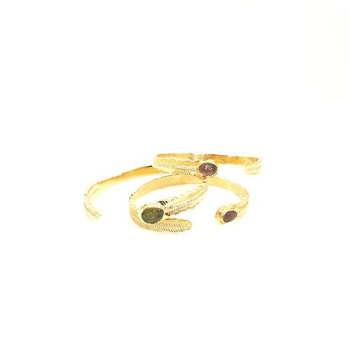 Bracelets PLUME tourmalines