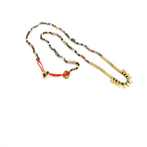Collier INCA pierres semi-précieuses