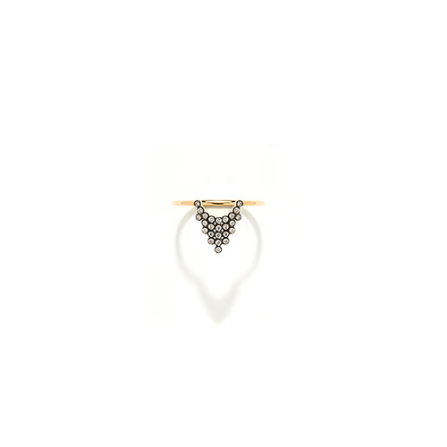Bague COURONNE or 18cts