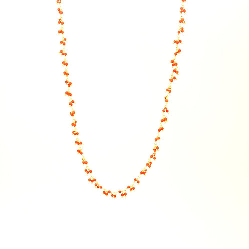 Collier RIBES  corail