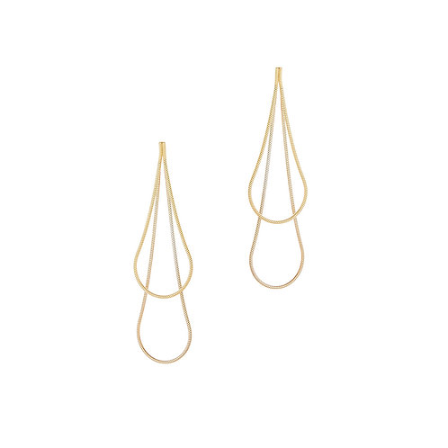 Boucles d'oreilles PLAYLAND 2 in 1