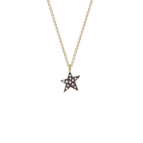 Collier ETOILE or 14 ct
