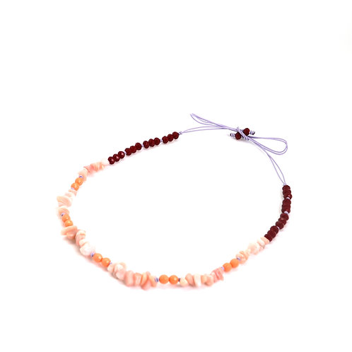 Collier SUMMERTIME corail