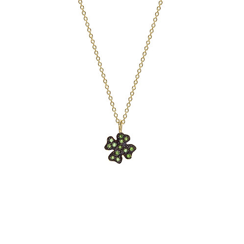 Collier TREFLE  or 14ct