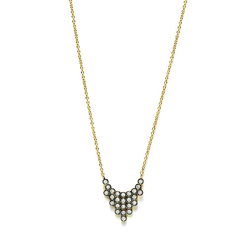 Collier CHARNIERES diamants 46/2