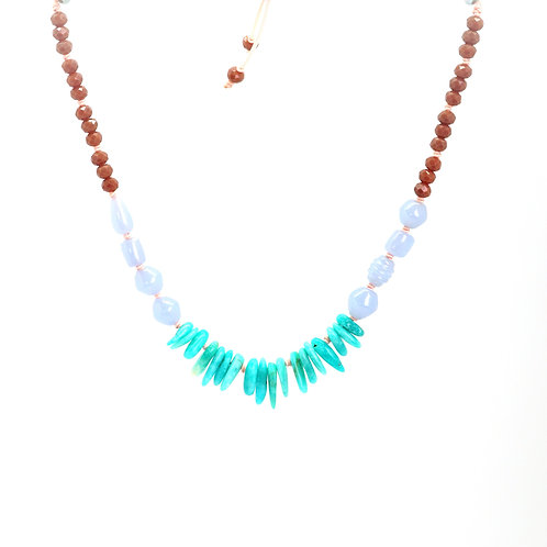 Collier SUMMERTIME turquoise