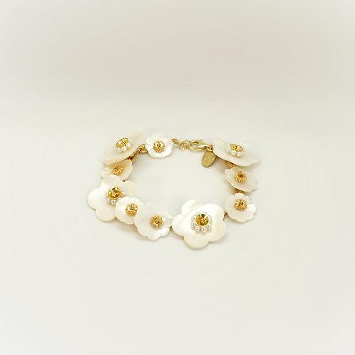 Bracelet CAMELIA nacre