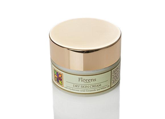 Crema idratante Acido Ialuronico, Ceramidi e Giglio Bianco