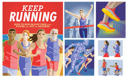 Keep Running book illustrations