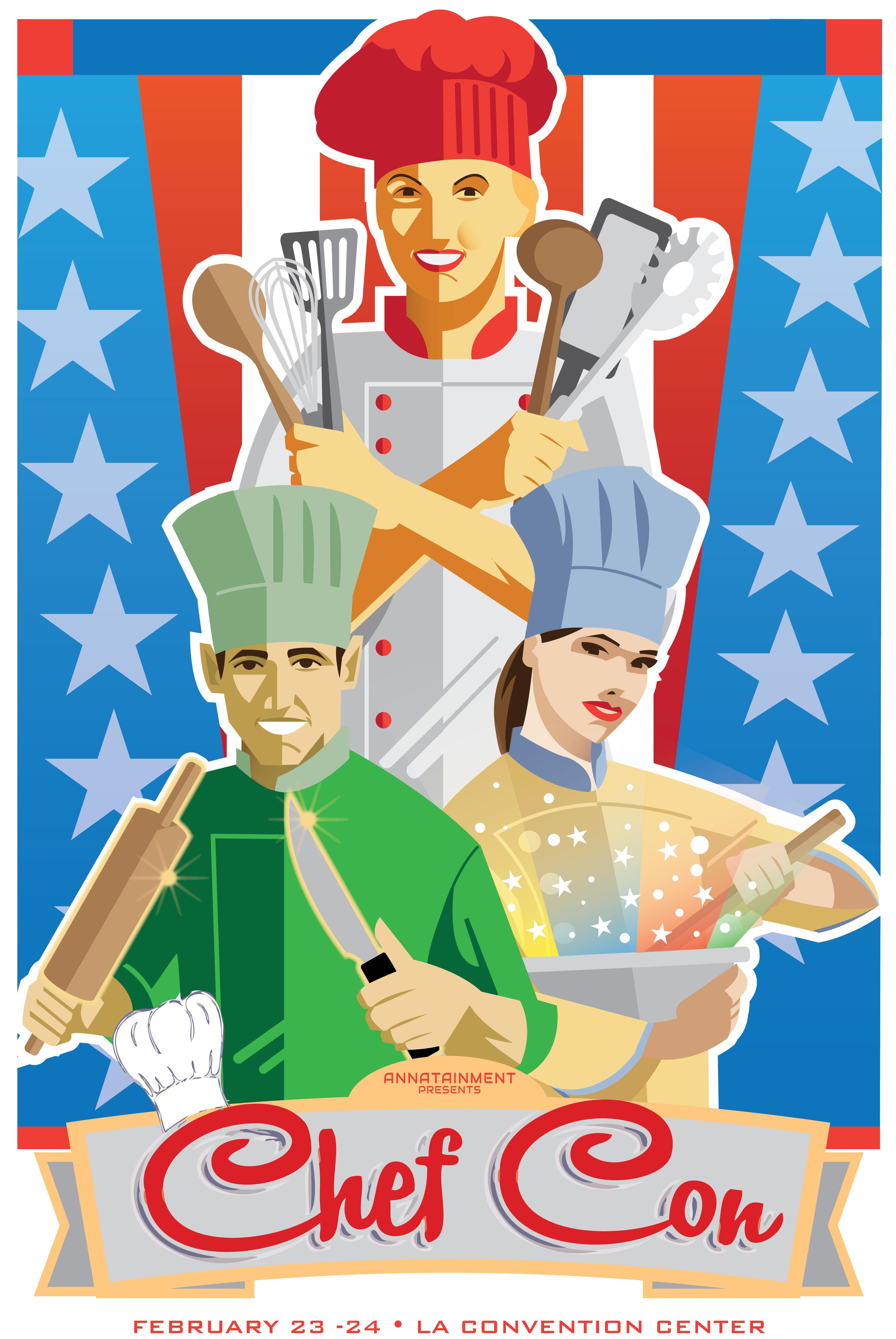 Chef Con Poster