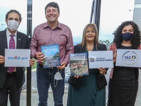 Prefeitura de Santana de Parnaíba faz reunião com Intelliboard e Tec Educacional