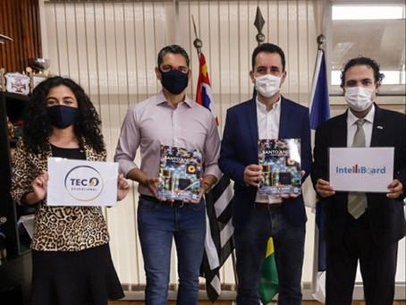 Intelliboard e Tec Educacional se reúnem com prefeitura de Santo André