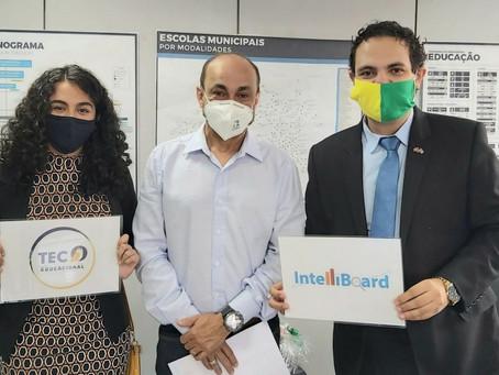 Tec Educacional realiza reunião com Secretaria de Educação de Guarulhos SP