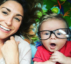 NYC SoulCycle instructor and mom by adoption, Halle Becker, with her daughter