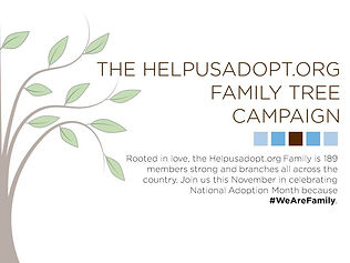Help us celebrate National Adoption Month! Make a gift today that will help build a family through adoption!