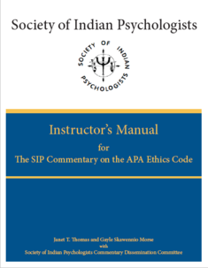 Instructor's Manual for the SIP Ethics Commentary
