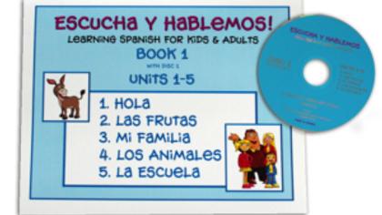 ESCUCHA Y HABLEMOS BOOK/CD 1