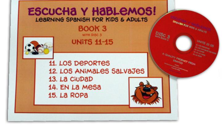 ESCUCHA Y HABLEMOS BOOK/CD 3