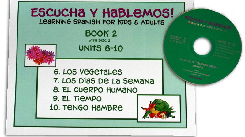 ESCUCHA Y HABLEMOS BOOK/CD 2