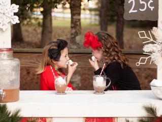 Christmas Minis   2016   Hot Chocolate Stand