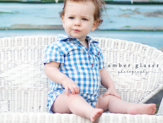 Franco | Spring | Baby in Blue |Little Man