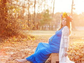 Alexa | Maternity Session| Southeast Texas Birth Services