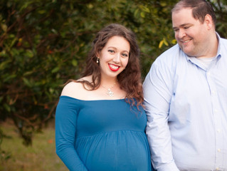 Sarah and Daniel | Maternity| Citrus Grove