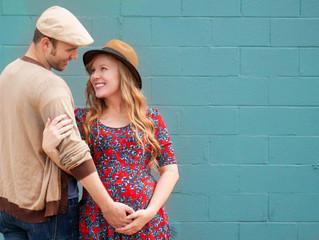 Koehl and Ashley | Maternity | Downtown Houston, TX