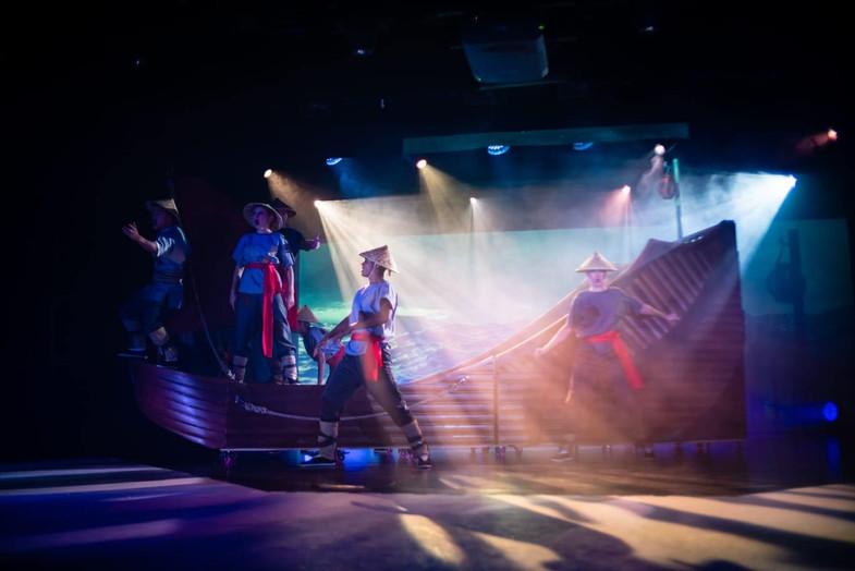 Opening Scene Ocean Legend